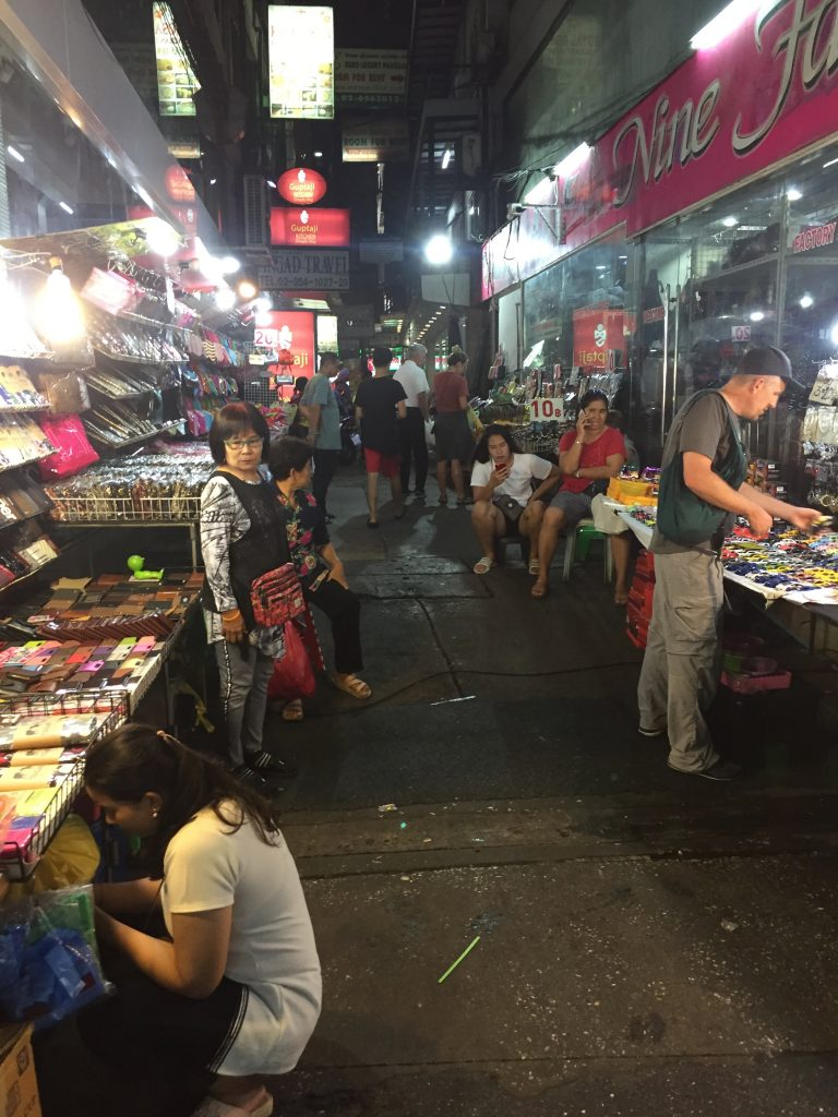 Indie Author on Book Tour in Asia: Bangkok night market